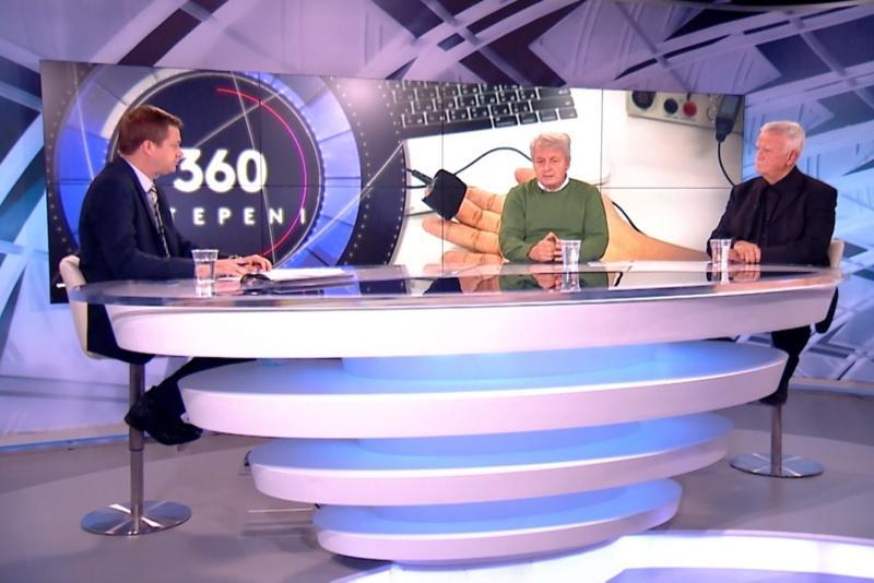 360 stepeni: Poligrafisti Dragiša Mališić i Zoran Luković