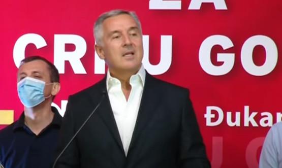 """Djukanović: """"Srbija bi Kosovo bez Albanaca i Crnu Goru bez Crnogoraca…"""""""