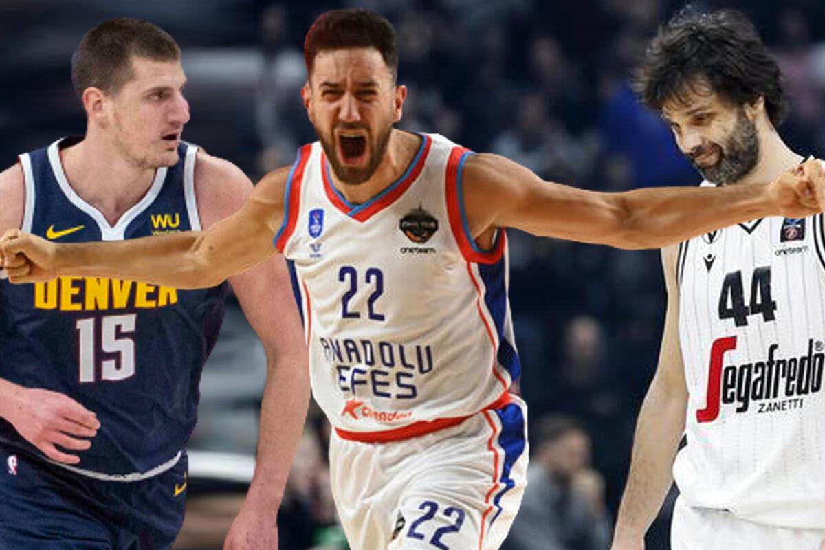 SRBIJA JE ZEMLJA KOŠARKE! MVP Evrolige, NBA i Evrokupa prvi put dolazi iz jedne države! FOTO