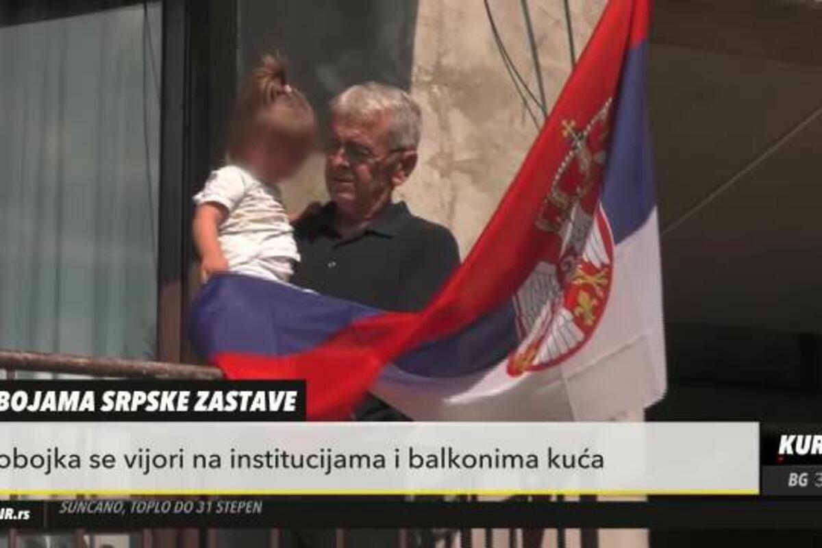 BEOGRAĐANIN MILIJA ODRŽAO LEKCIJU O TOME KAKO SE VOLI OTADŽBINA! Okačio trobojku na balkon, njegove reči treba da čuje svaki Srbin