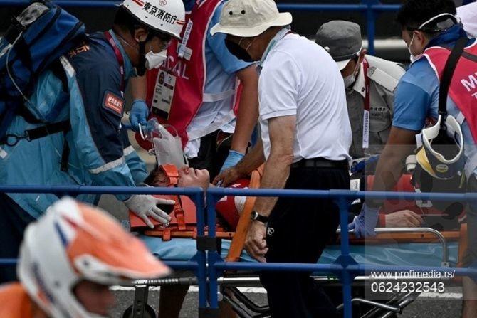 Drama u Tokiju: OI šampion iz Rija hitno prevezen u bolnicu zbog nesreće, nije mogao da brani zlato