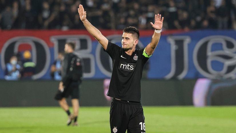 Saša Zdjelar Partizanov kapiten bez trake: Osećam da mi ekipa veruje! Ovacije Grobara pamtiću dok sam živ