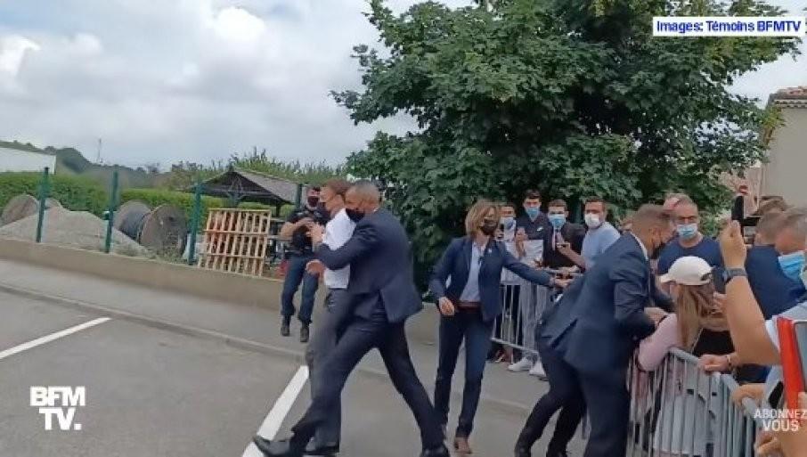 MAKRONOV ŠAMAR IZ DRUGOG UGLA: Skandal u Francuskoj, udarac se glasno čuo! (VIDEO)