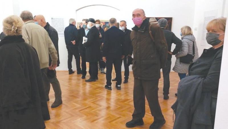 UMETNIČKI OTAC I SIN: U Kući legata otvorena izložba Milana Konjovića i Dragana Stojkova