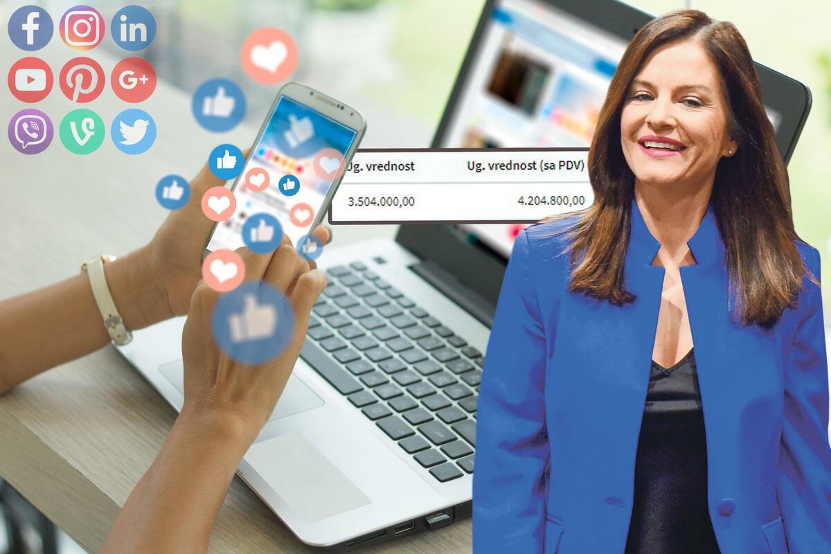SVE ZA LAJK! Ministarka Marija Obradović dala 35.633 evra da joj se podigne popularnost!