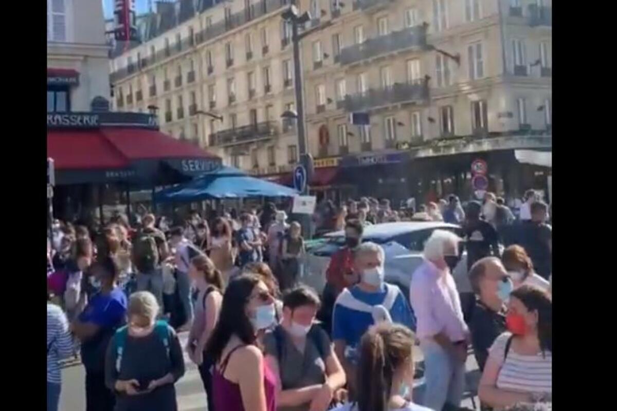 AKCIJA EVAKUACIJE U PARIZU: Prijava podmetnute BOMBE