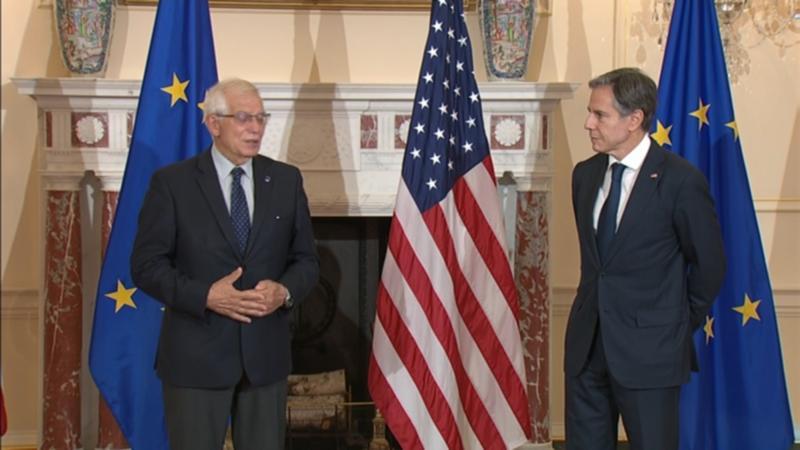 Blinken i Borelj razgovaraju o transatlantskoj saradnji, Avganistanu, Balkanu, Rusiji i Kini