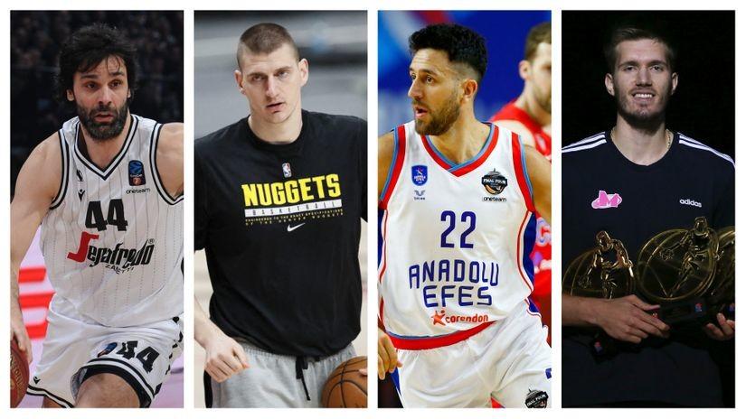 MVP * (NBA + Evroliga + Evrokup + ABA) = SRBIJA!