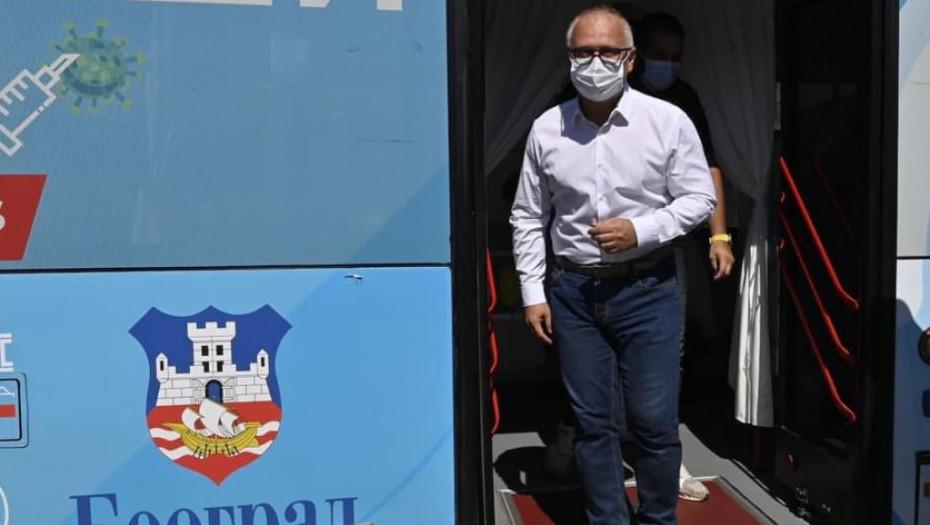 VESIĆ: U Beogradu skoro 59 odsto vakcinisanih