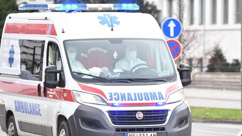 Saobraćajna nezgoda na Ibarskoj magistrali, povređen jedan mladić