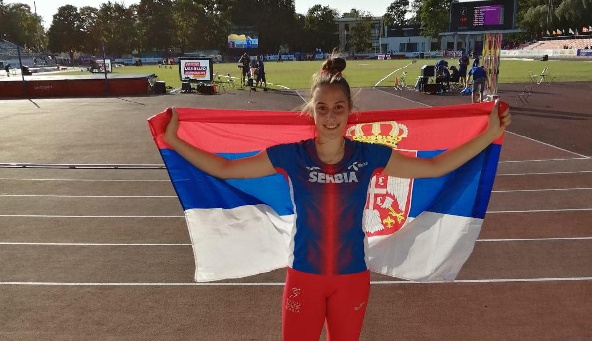KOPLJE LETELO DO EVROPSKOG SREBRA: Adriana Vilagoš vicešampionka Evrope!