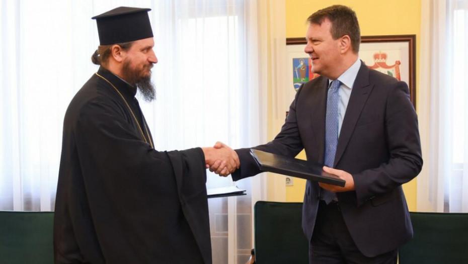OBNOVA VELIKE SVETINJE Mirović: Pokrajinska vlada izdvojila sredstva za manastir Rmanj u Eparhiji bihaćko-petrovačkoj