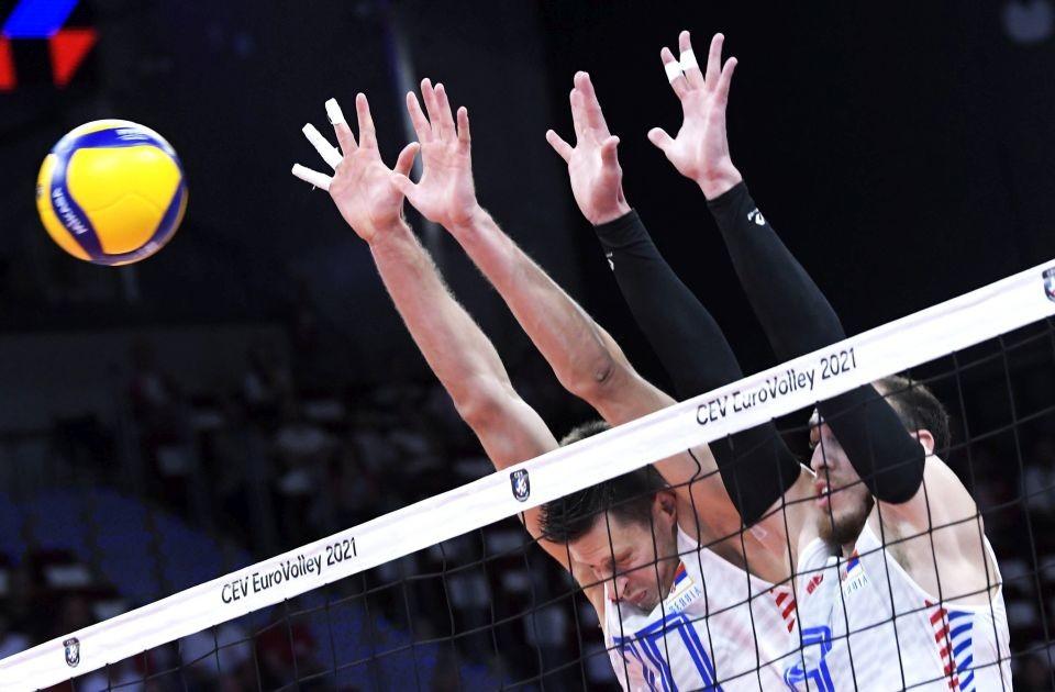 Odbojkaši Srbije u polufinalu Evropskog prvenstva