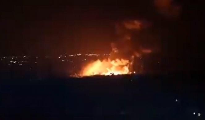 IZRAEL NE MIRUJE, SADA NA UDARU DAMASK!  Sirija žestoko uzvratila! /FOTO/