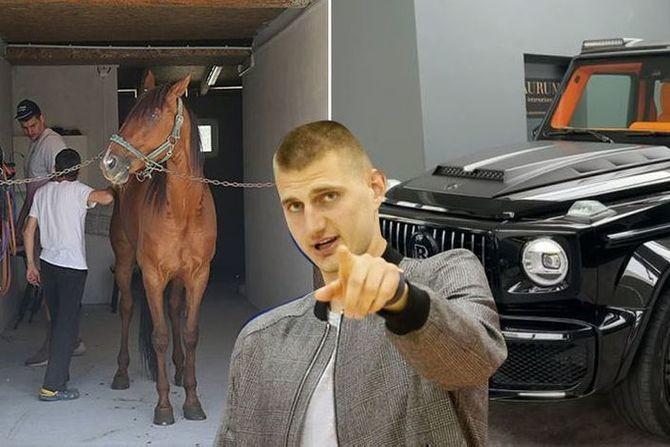"""Kako Jokić troši svoje milione: Mnogo je dao za """"zver"""" u garaži, ali najviše para je ostavio u štali"""
