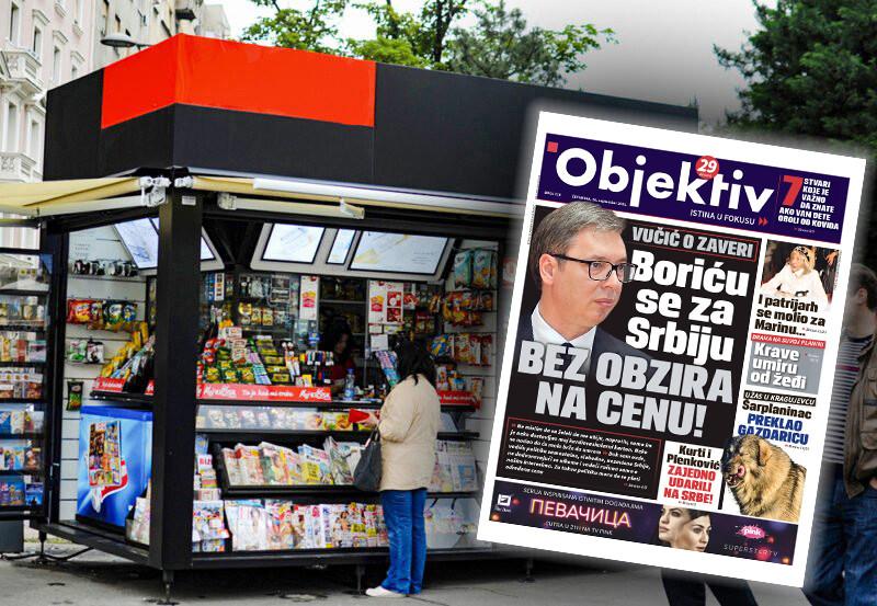 Sutra u novinama Objektiv: Vučić se bori za Srbiju, Kurti i Plenković udarili na Srbe (NASLOVNA STRANA)