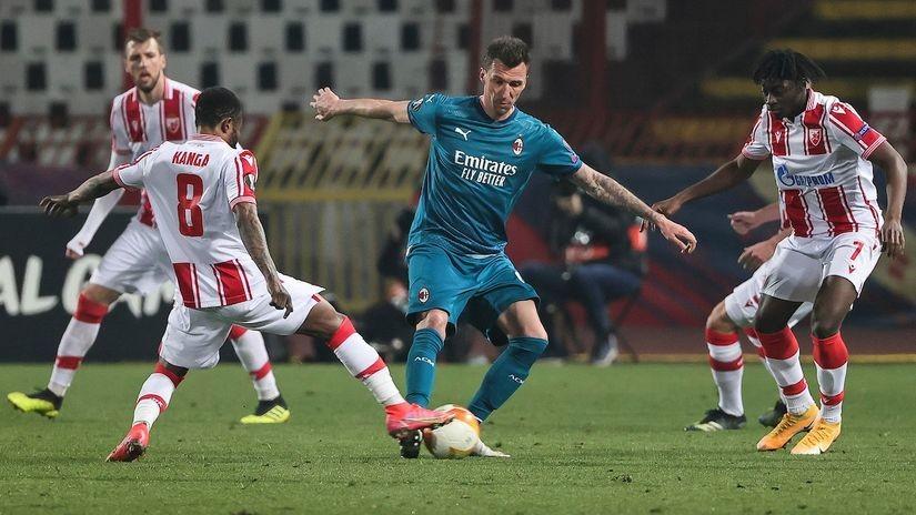 Poslednja vest iz Milana, Mandžukić otpao za Zvezdu