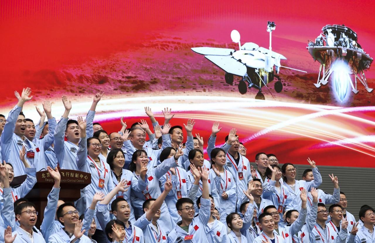 Kina uspešno spustila svemirsku letelicu na Mars