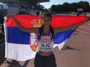 Прва медаља у историји српског спринта – Ивана Илић вицешампионка Европе