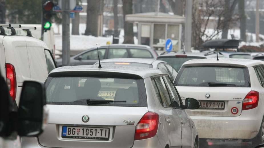 Putevi Srbije: Saobraćaj zbog nevremena sporiji oko Bele Palanke
