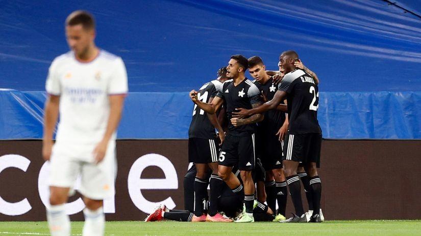 Šta je ovo u Madridu?! Šerif vodi na poluvremenu protiv Reala (VIDEO)