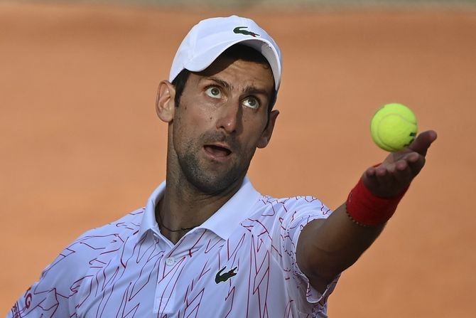 UŽIVO: Novak kreće po titulu u Rimu, čeka ga nepredvidivi Argentinac
