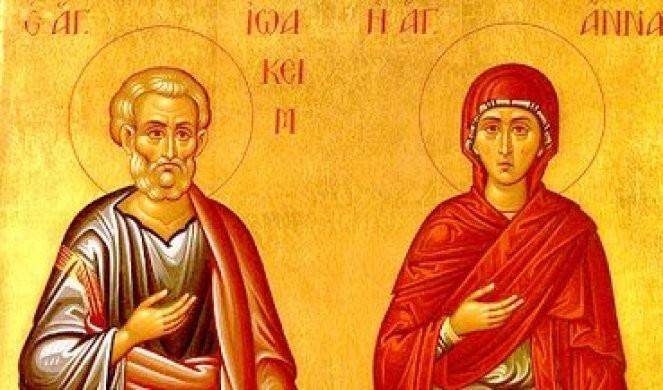 DANAS MORATE NEŠTO DA POKLONITE OD SRCA! Slavimo svetog Joakima i Anu! Običaj kaže da danas ovu stvar izbegavate, inače će vas TERATI MALER CELE GODINE!