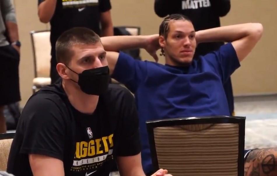 Ovo je momenat kada je Jokić saznao da je MVP… (Ne)očekivana Nikolina reakcija  (VIDEO)