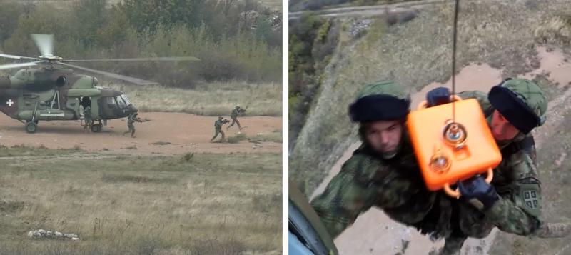 Srbi i Rusi izvršili DESANT: Iskrcali trupe, obezbeđivali ih HELIKOPTERI (VIDEO)