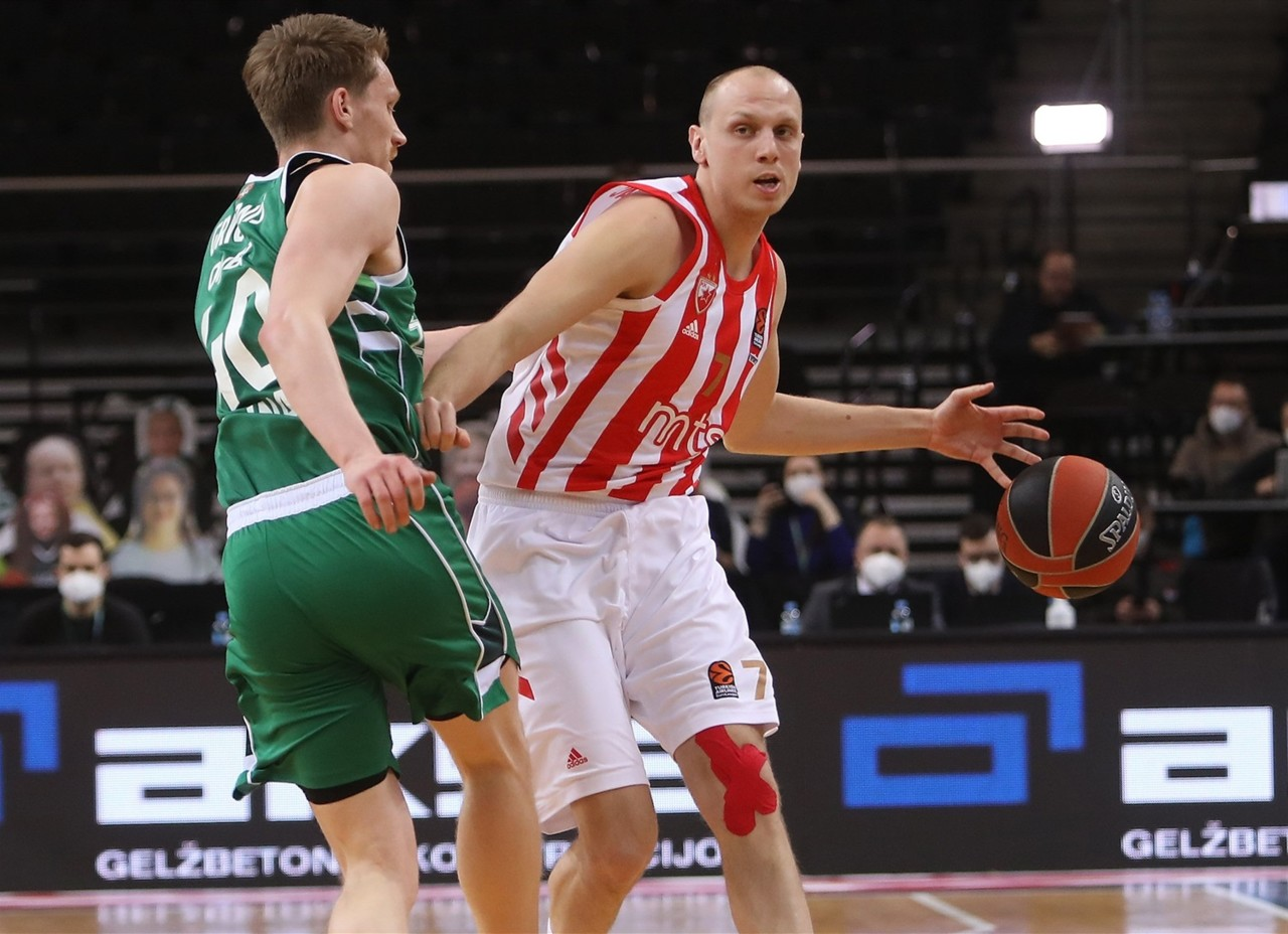 Oslabljena Zvezda prokockala 13 poena prednosti i na kraju ubedljivo izgubila u Kaunasu
