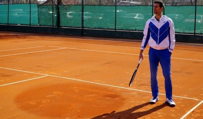 ĐOKOVIĆ OKUPIO EKIPU! Vajda stigao u Monako, Novak pali mašinu! /VIDEO/FOTO/