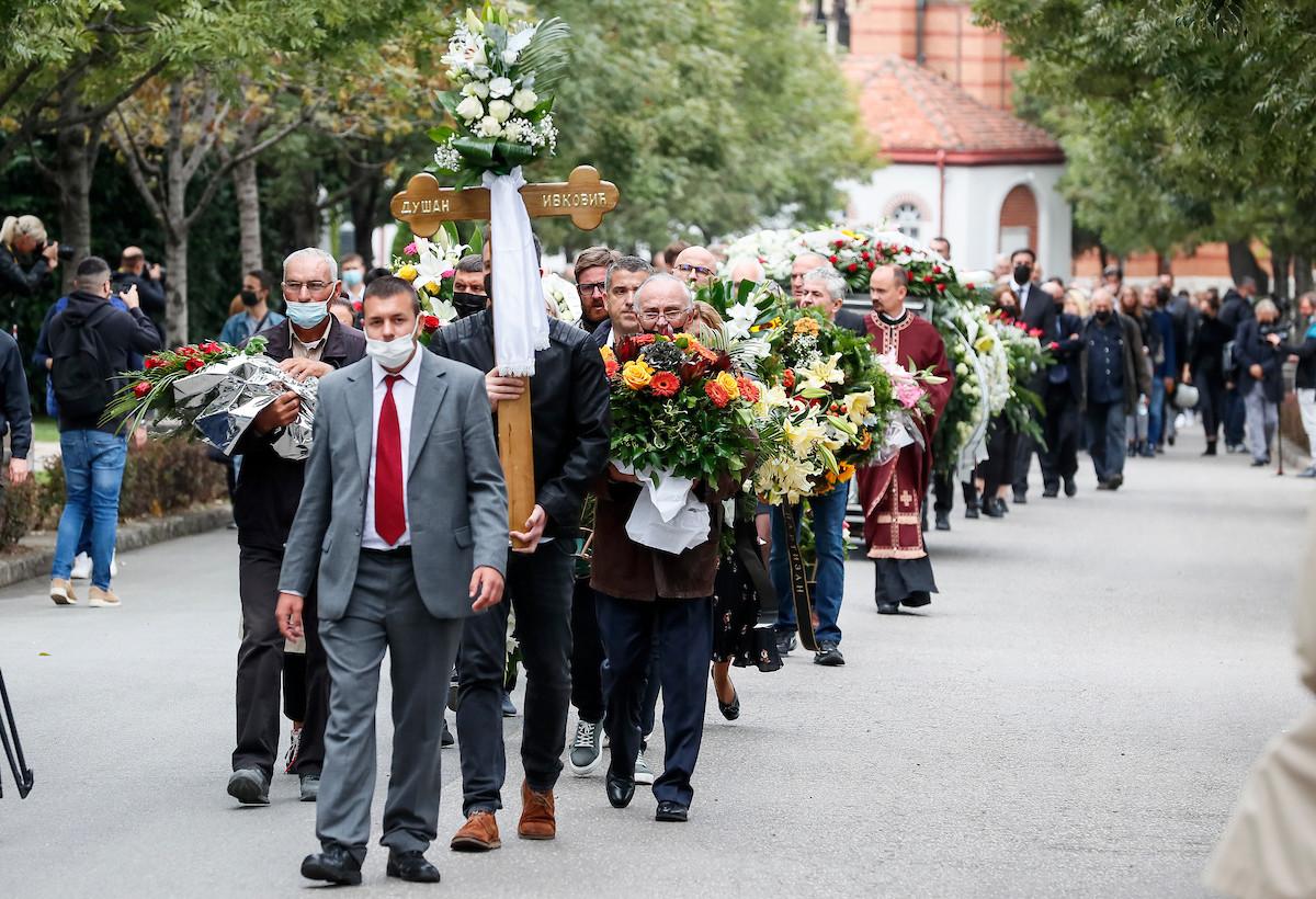 ŽOC, DINO, RAŠA, BILI, VLADE, ITUDIS… Duda Ivković ispraćen na poslednji put (FOTO)