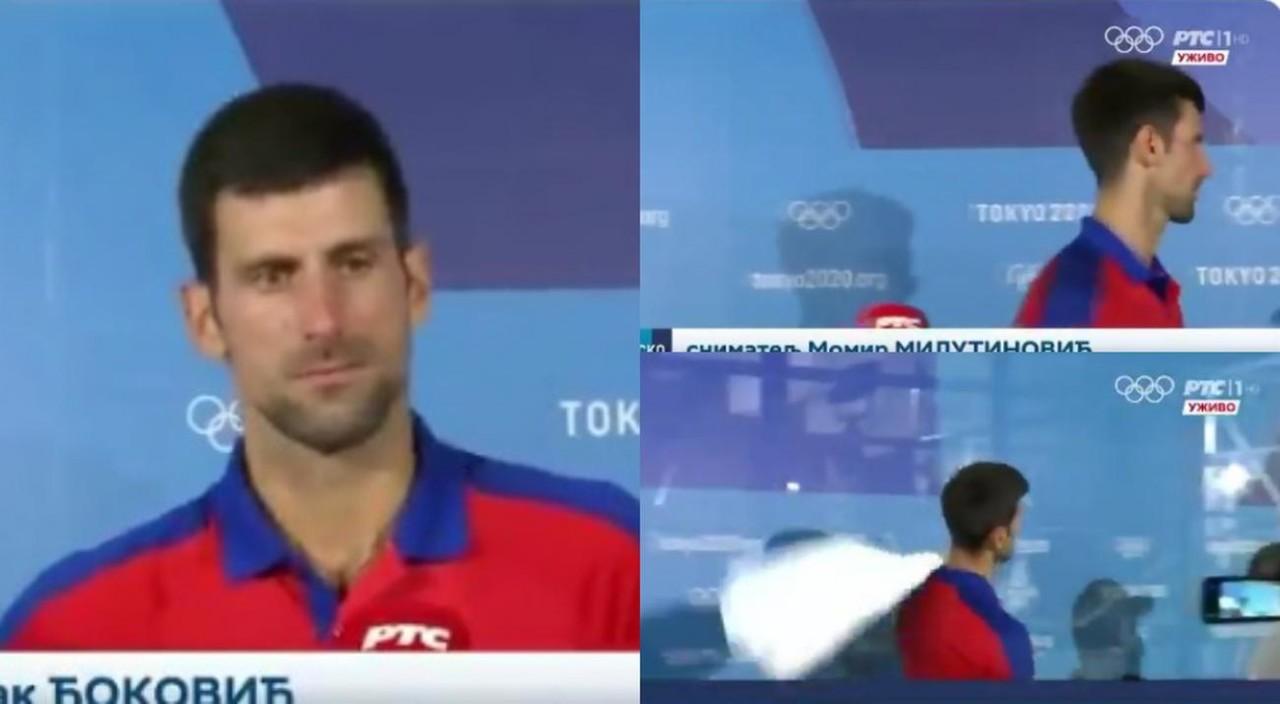 Ovakvog Novaka NIKAD NISMO VIDELI! Đoković stao pred kameru da se obrati Srbiji, a onda rekao ovo, PREKINUO RAZGOVOR i odšetao /VIDEO/