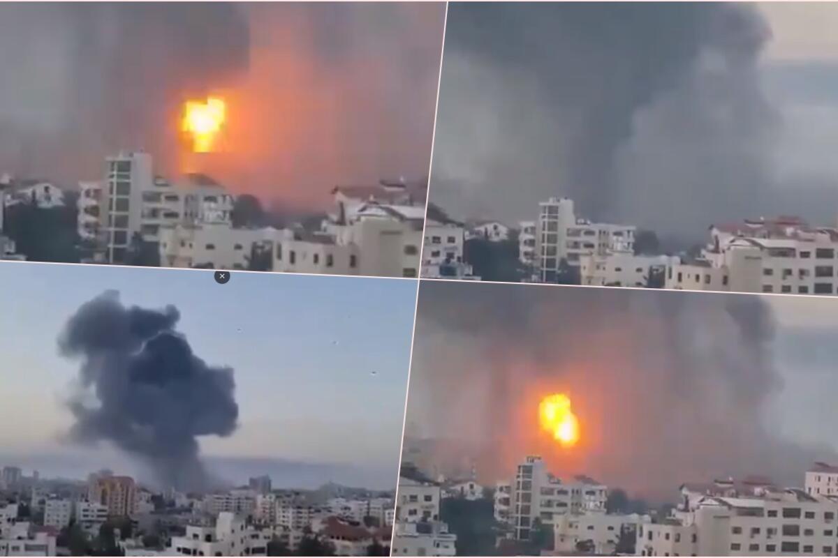 SITUACIJA ESKALIRA U RAT: Izrael jutros nastavio sa bombardovanjem Hamasovih položaja, pogođena još jedna zgrada u Gazi