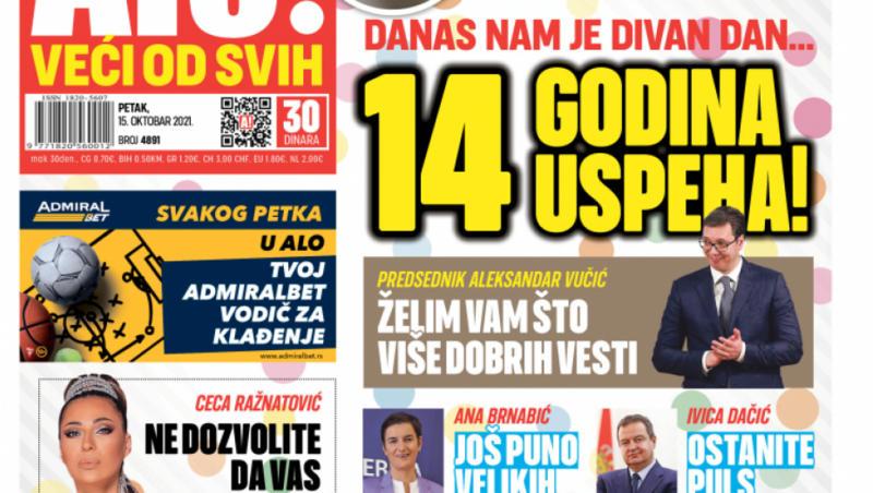 DANAS NAM JE DIVAN DAN! Predsednik Vučić: Želim vam što više dobrih vesti!
