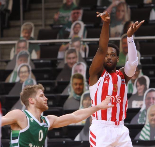 ŽALGIRIS KAZNIO LOŠE POLUVREME ZVEZDE! Crveno-beli igrali 'samo' 20 minuta i doživeli poraz u Kaunasu (VIDEO)